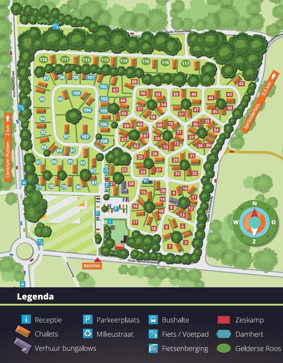 Plattegrond VeluwsBospark